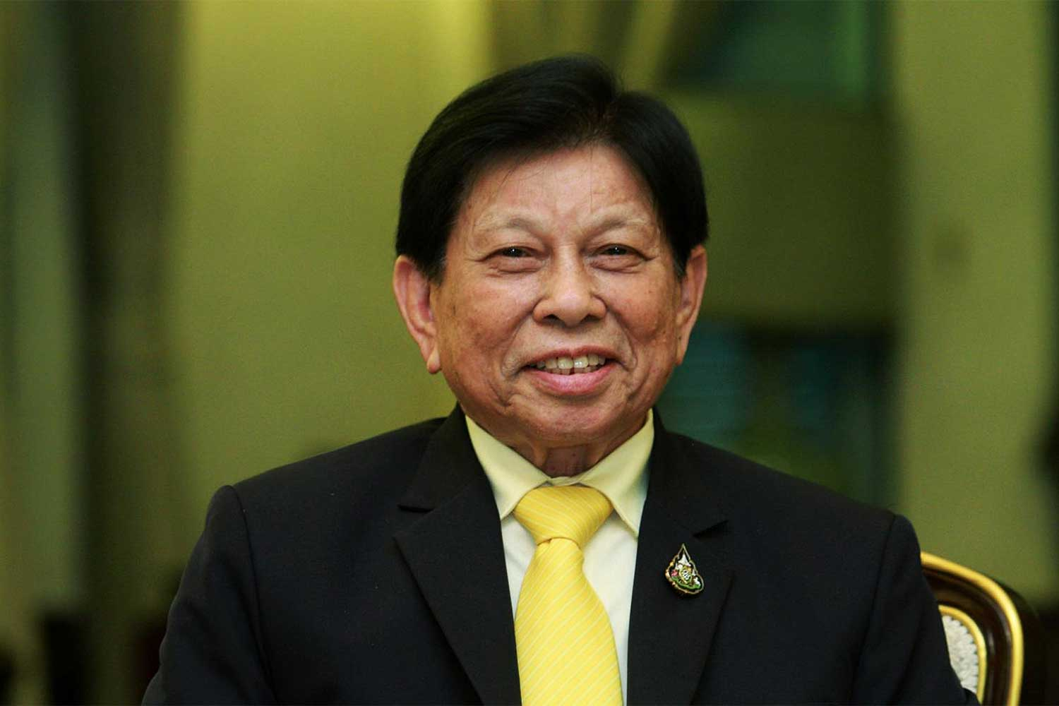 Sanit Aksornkaew, chairman of the Office of the National Economic and Social Development Council (NESDC). (Photo by Pawat Laopaisarntaksin)