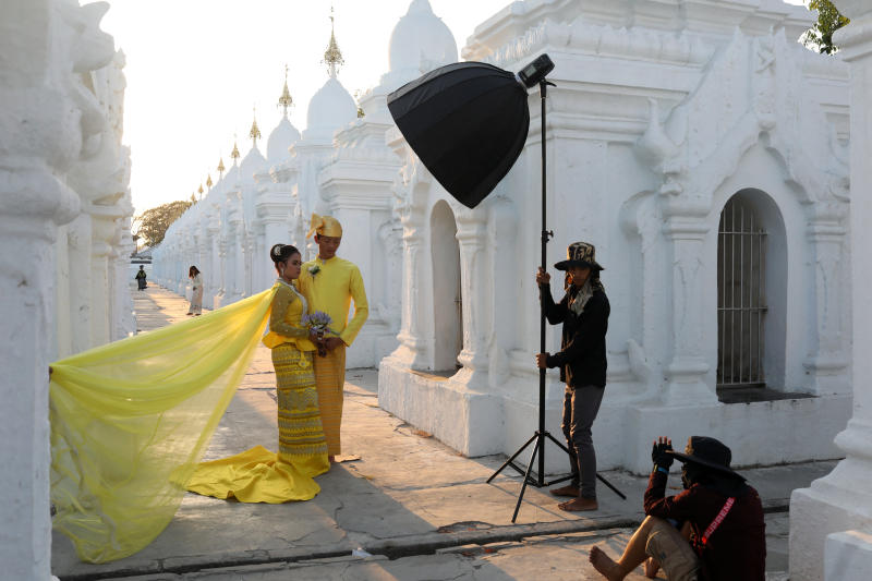 Cascade of love for Luang Phor Koon