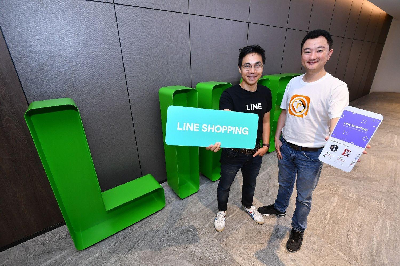Line readies e-commerce platform