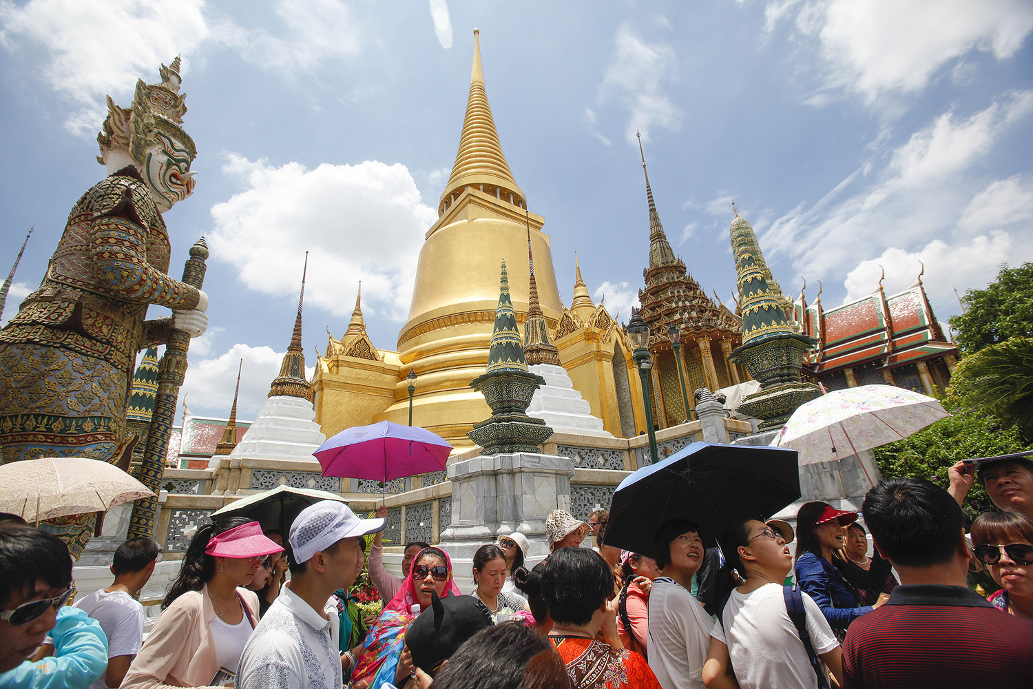 Chinese travellers top visitors to Thailand and the country eyes the Nordic market to attract more Scandinavians. (Bangkok Post photo)