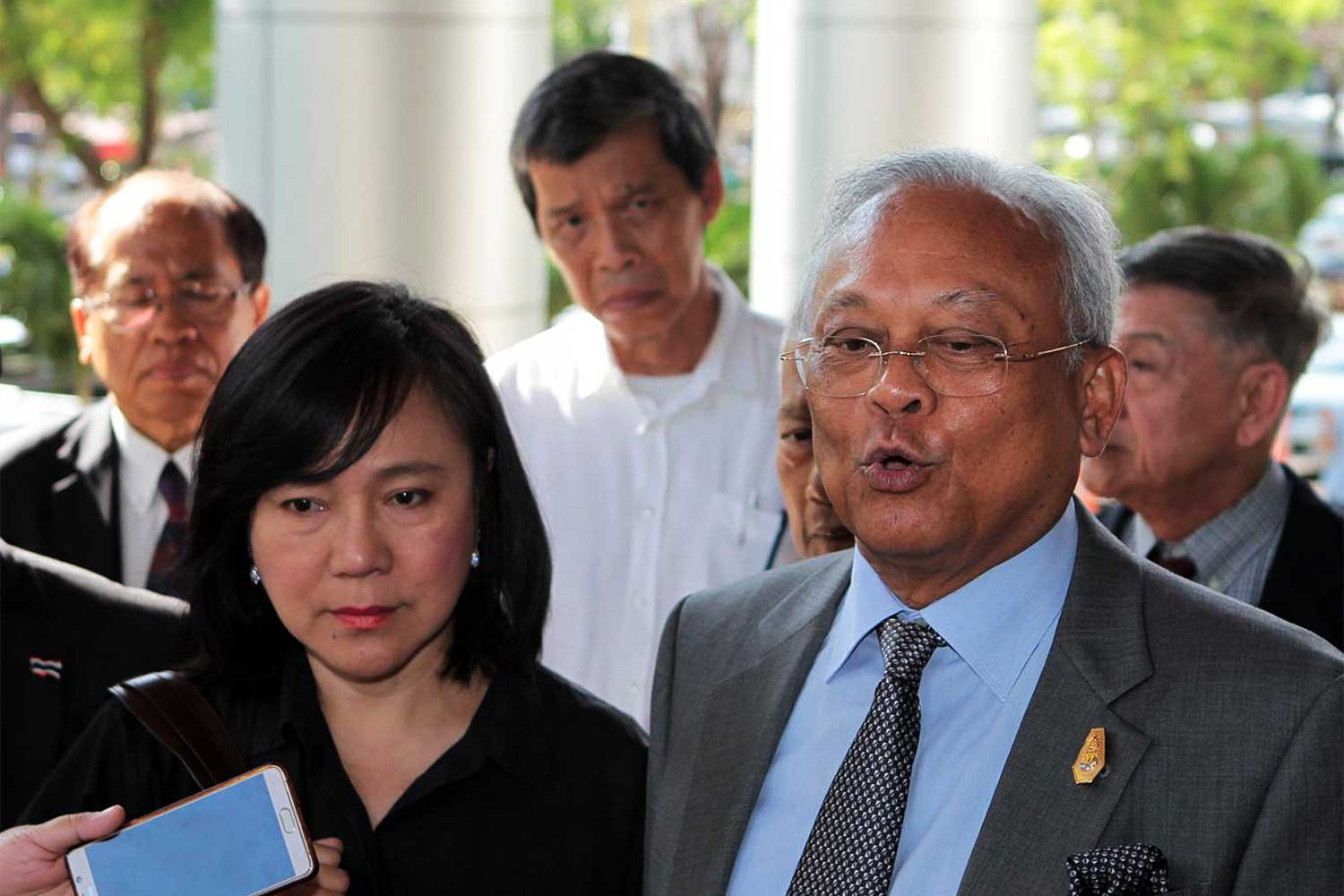 Suthep: Faces two possible charges