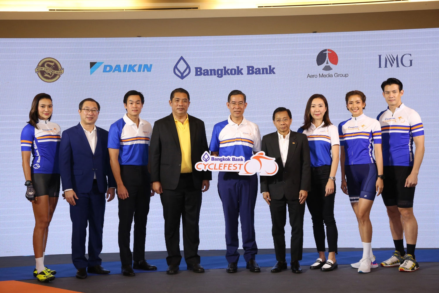 Siam Motors Group support to the year's biggest cycling event
