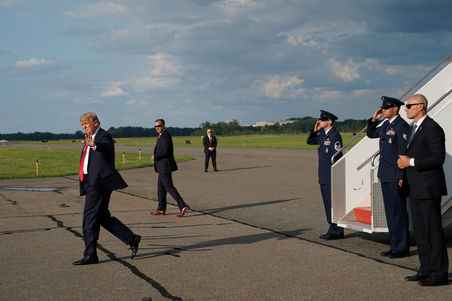 Trump says Kim Jong Un apologized for flurry of missile tests