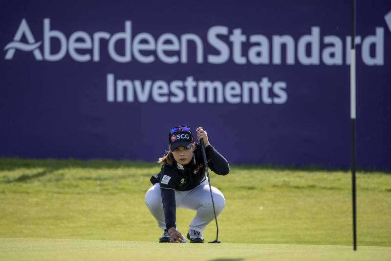 Moriya Jutanugarn leads Ladies Scottish Open