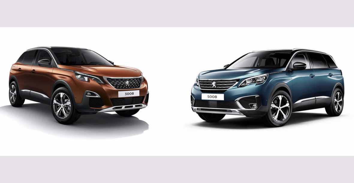 2019 Peugeot 3008 and 5008: Thai prices and specs