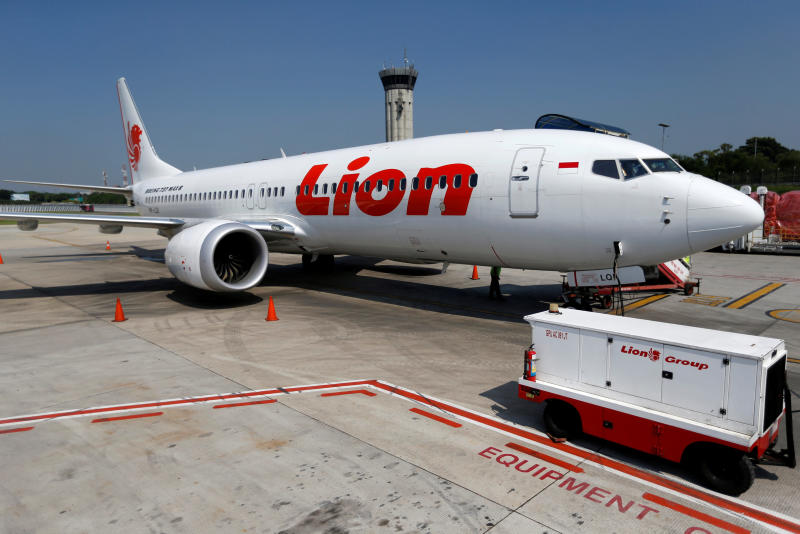 A Lion Air Boeing 737 Max 8 aeroplane is parked on the tarmac of Soekarno Hatta International airport near Jakarta, Indonesia, March 15, 2019. (Reuters file photo)