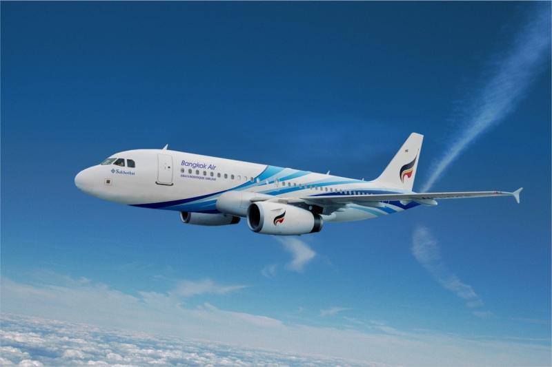 Bangkok Airways blames slow growth in international tourist arrivals and the strengthening of the baht on its losses in the second quarter. (Bangkok Airways photo)
