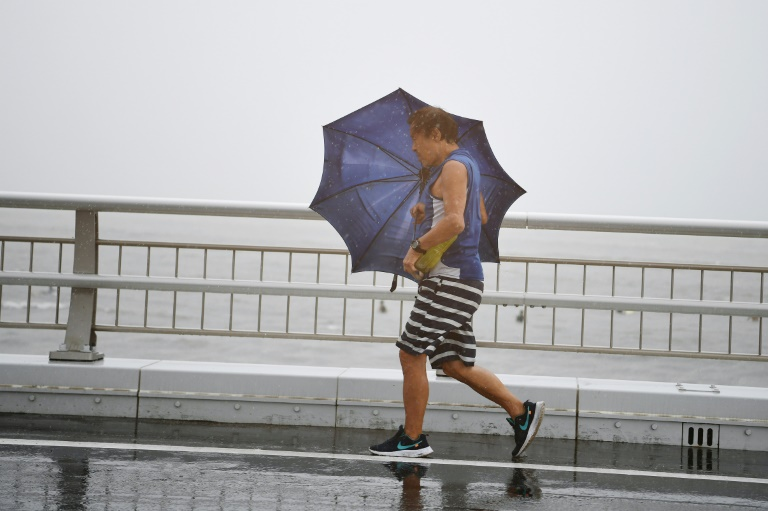 The storm is expected to bring heavy rain and strong winds/