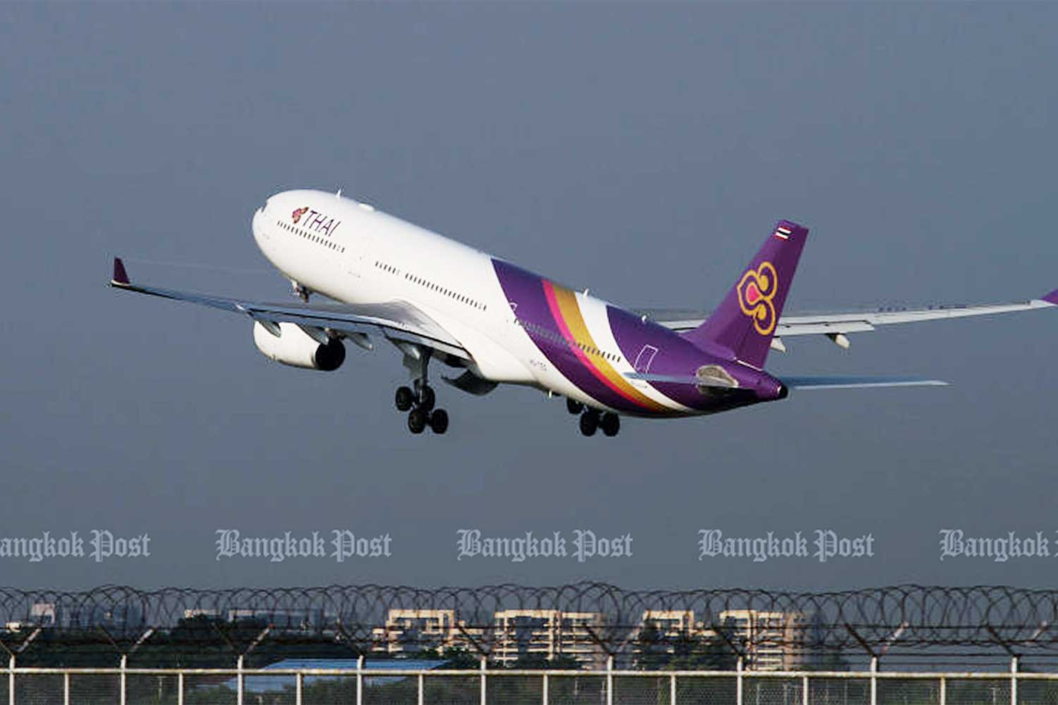 The State Audit Office will begin auditing Thai Airways International's balance sheet and financial statements and review the board's transparency in operating the carrier. (Bangkok Post photo)