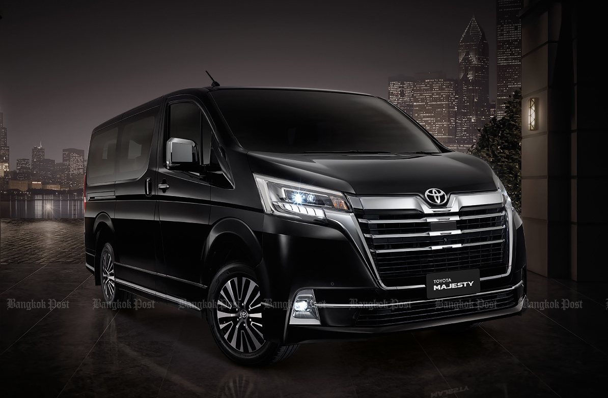 Toyota launches new Majesty in Thailand