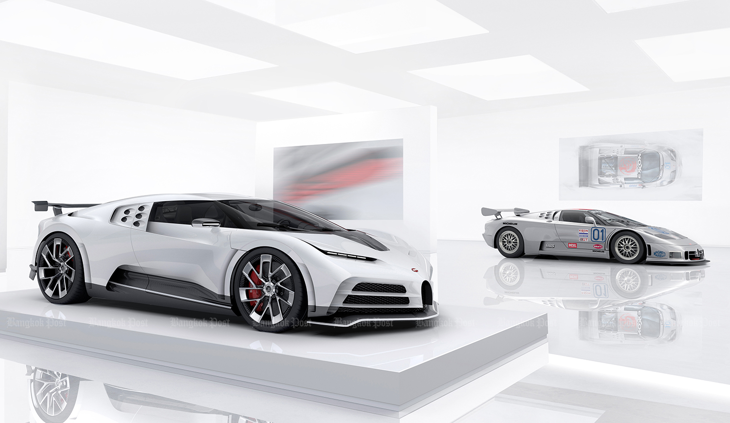 Bugatti pays homage to EB100 with new Centodieci