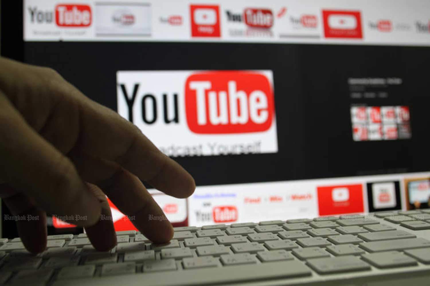Over-the-top services like YouTube enable video streaming via the internet.(Photo by Pattanapong Hirunard)
