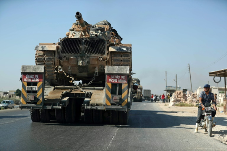 Tensions spike as Turkish convoy enters northwest Syria
