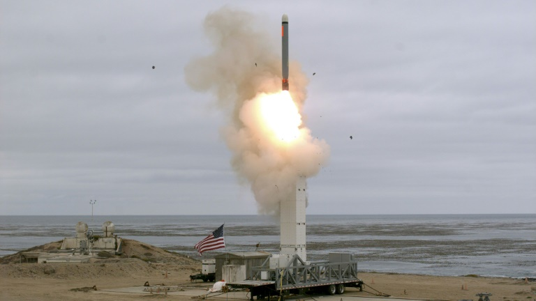 Russia says US missile test 'escalation of military tensions'