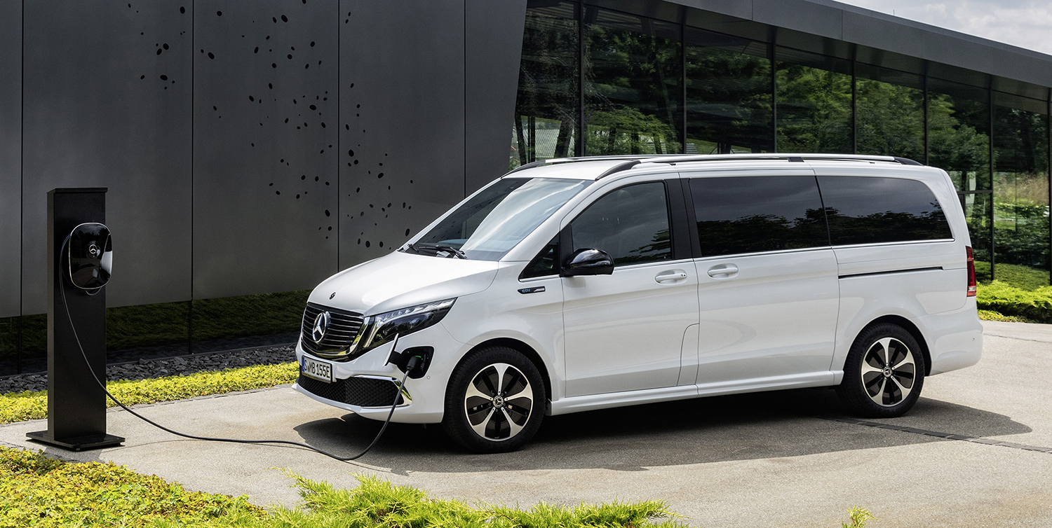 Mercedes-Benz EQV electric minivan revealed