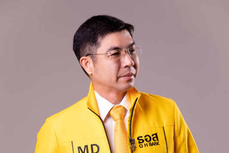 GH Bank president Chatchai Sirilai