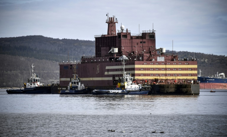 Russia's first seaborne nuclear power plant sets sail across Arctic