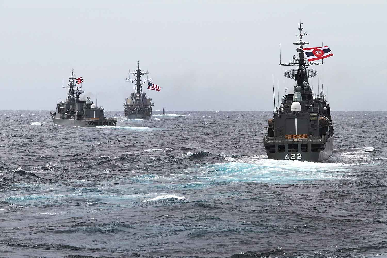 10 Asean nations launch first drill with US Navy