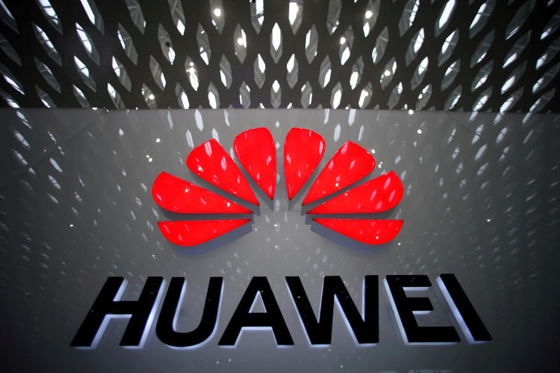 A Huawei company logo is pictured at the Shenzhen International Airport in Shenzhen, Guangdong province, China July 22, 2019. (Reuters file photo)