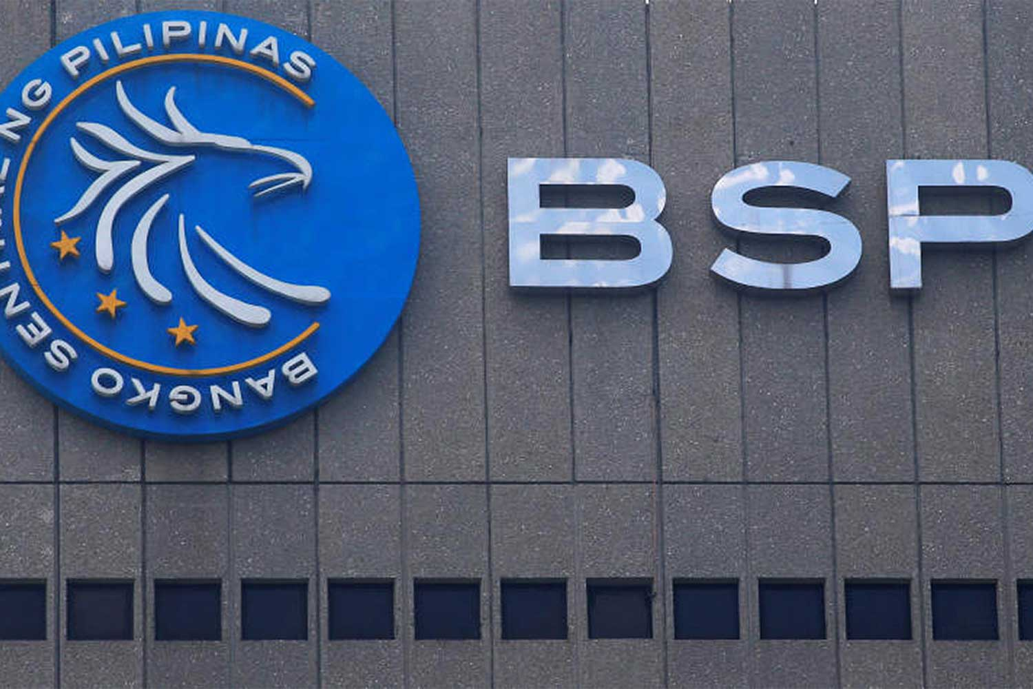 A logo of Bangko Sentral ng Pilipinas (Central Bank of the Philippines) is seen at their main building in Manila, Philippines March 23, 2016. (Reuters file photo)