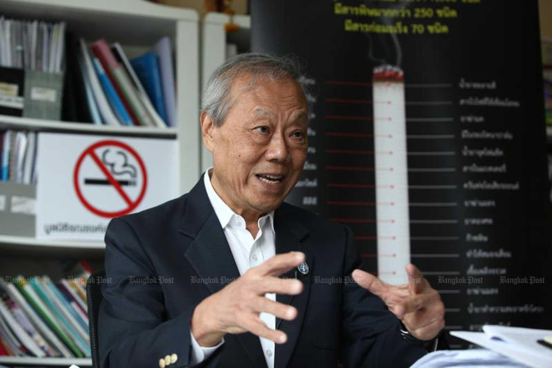 Prakit Vathesatogkit, executive secretary of the Action on Smoking and Health Foundation Thailand. (File photo)