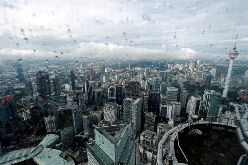 A view of the Kuala Lumpur city skyline in Malaysia Aug 15, 2017. (Reuters file photo)