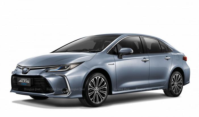 2019 Toyota Corolla Altis: Thai Prices And Specs