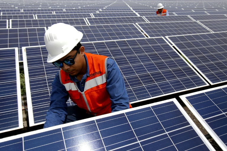 Solar power has become more competitive because of