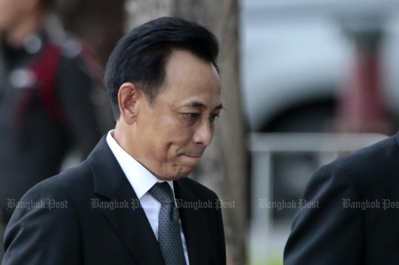Former commerce minister Boonsong Teriyapirom appealed his 2017 sentencing, only to learn that his jail term will now be extended. (Bangkok Post file photo)