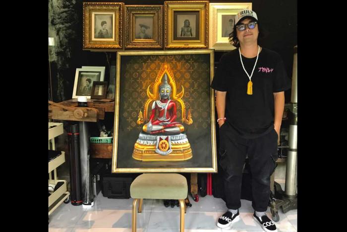 Second Ultraman Buddha painting sells for B2m