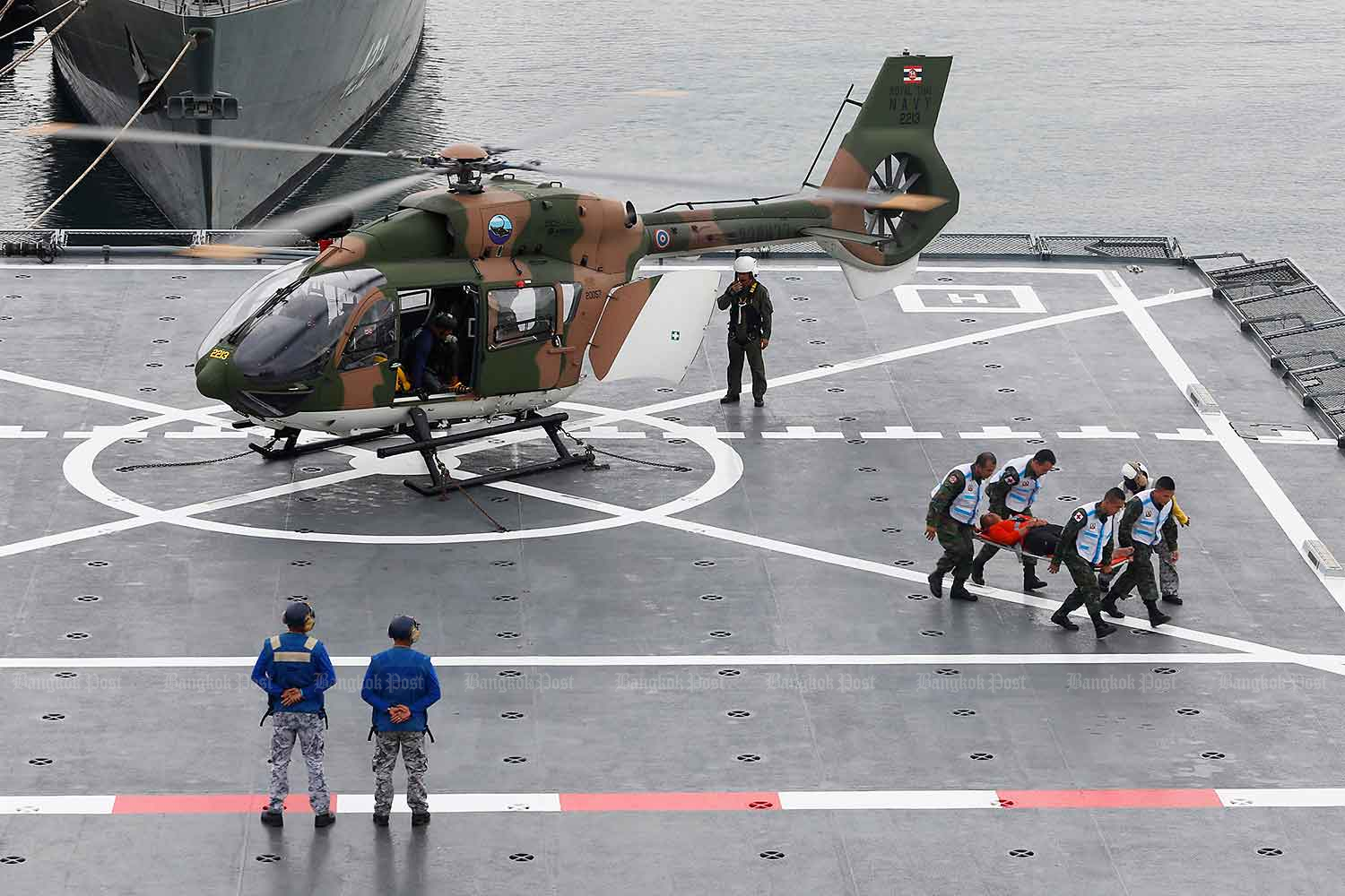 The Navy defended its latest purchase from China. (Bangkok Post file photo)