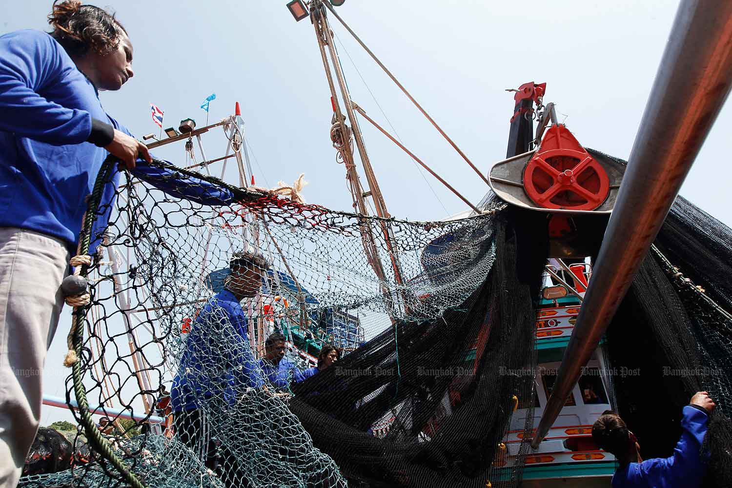 Thai-MECC will be in charge of combating IUU fishing. (Bangkok Post file photo)