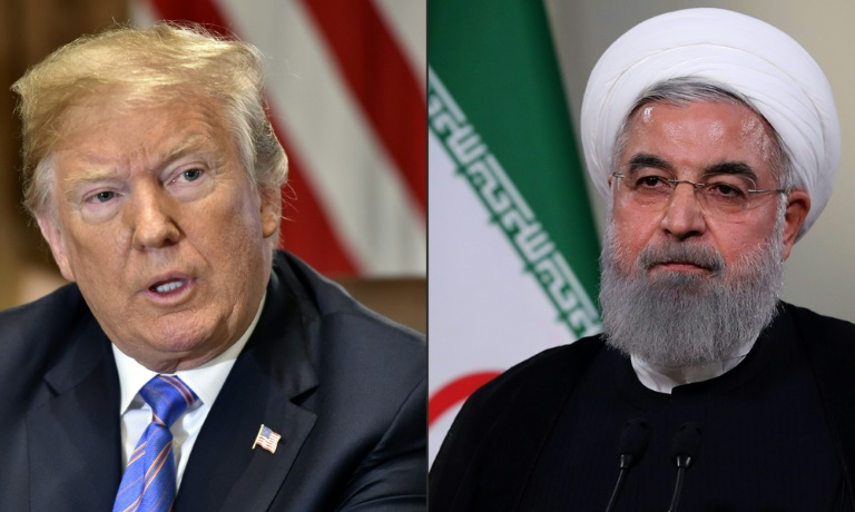 US President Donald Trump has suggested meeting Iranian leader Hassan Rouhani at a UN assembly in New York.
