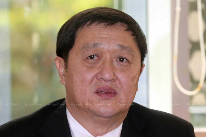 Prasong Poontaneat, the finance permanent secretary.