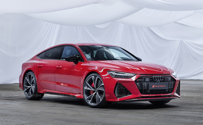 Audi makes new RS7 as a 600hp fastback