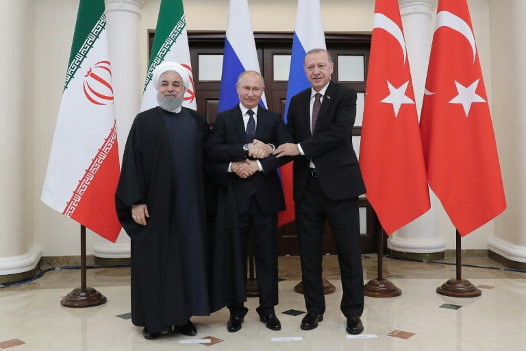 Iran and Russia have been staunch supporters of Syrian President Bashar al-Assad, while Turkey has called for his ouster and backed opposition fighters.