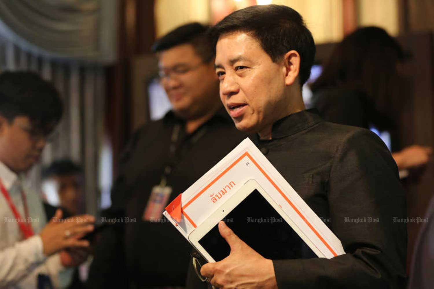 Sansern Kaewkamnerd, director-general of the Public Relations Department