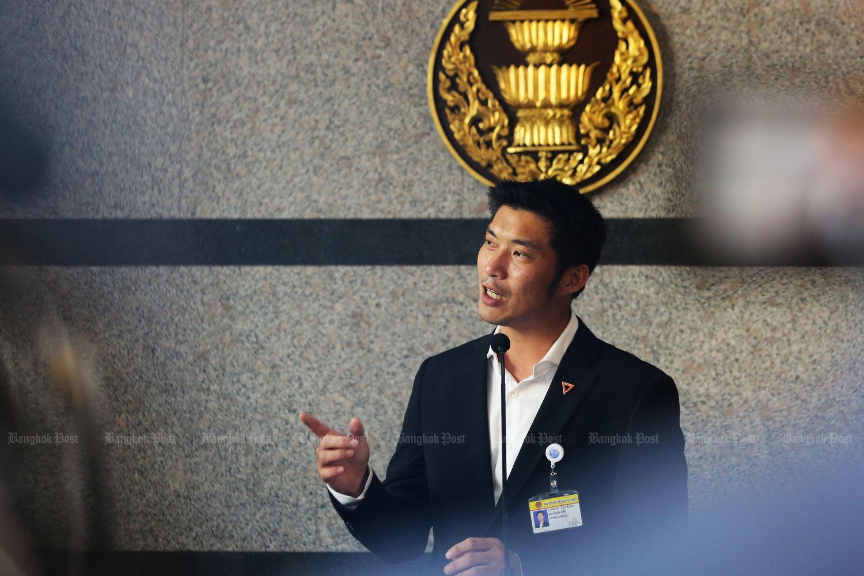 Thanathorn: B5.6bn (Bangkok Post file photos)