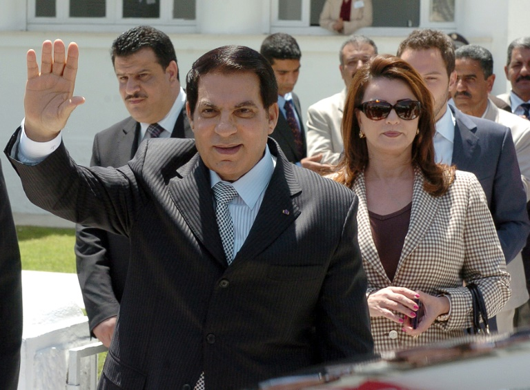 Former Tunisian president Zine El Abidine Ben Ali is survived by his wife Leila Trabelsi and six children.