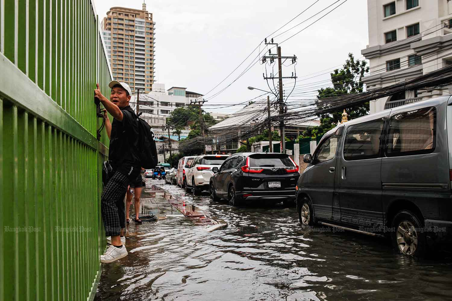 A flood in Bangkok. (Bangkok Post file photo)