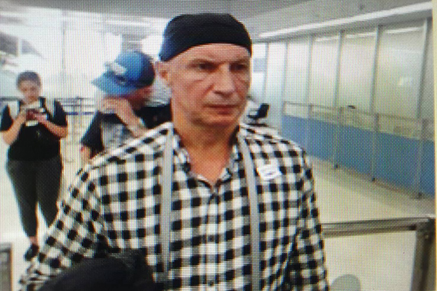 The body of a Russian man, identified by police as Viacheslav Kolbunov, will be sent from Samui island to Police General Hospital in Bangkok for a forensic examination. (Photo supplied by police)