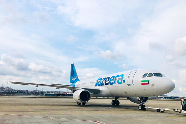Jazeera Airways plans to fly from London to Bangkok by using narrow-body planes. (Photo from Jazeera Airways Facebook account)