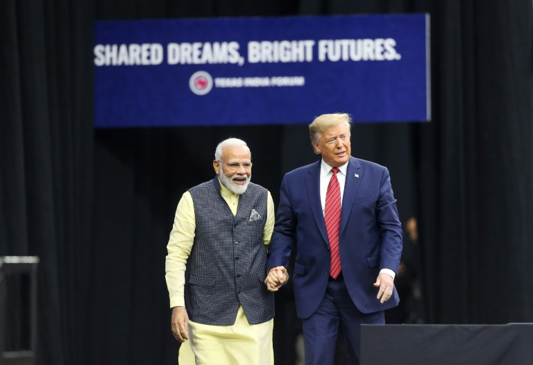 'Howdy, Modi!': Donald Trump joins Texas rally for India PM