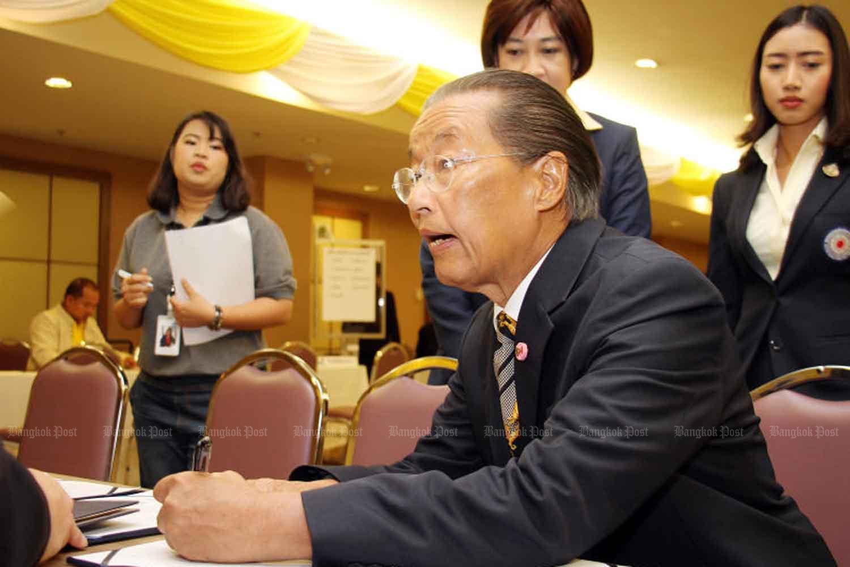 Labour Minister MR Chatu Mongol Sonakul