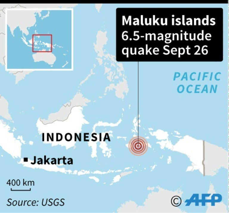 Strong 6 5 magnitude quake strikes eastern Indonesia: USGS
