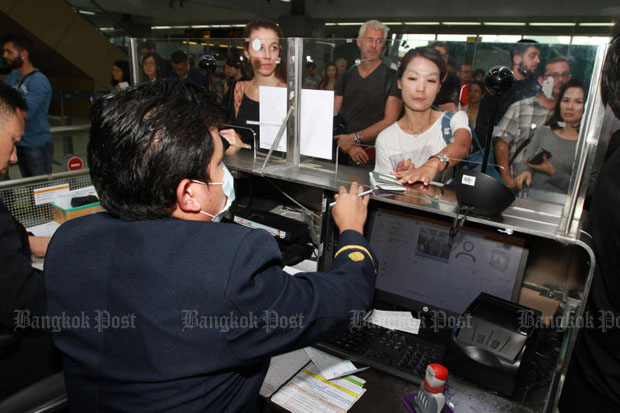 Japanese and US nationals who enter the country for medical services will be granted 90-day visa-free stay. (Bangkok Post file photo)