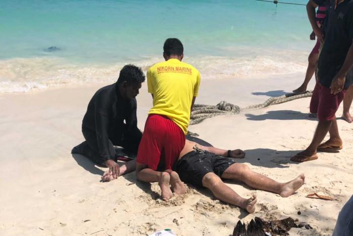 Singaporean saved from drowning in Phuket