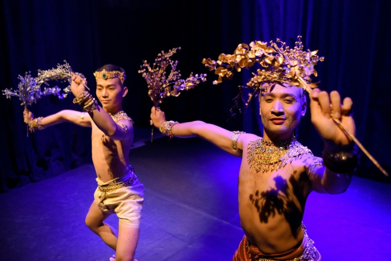 The all-male dance troupe Prumsodum Ok & Natyarasa is trying to alter perceptions of the LGBT community in Cambodia.