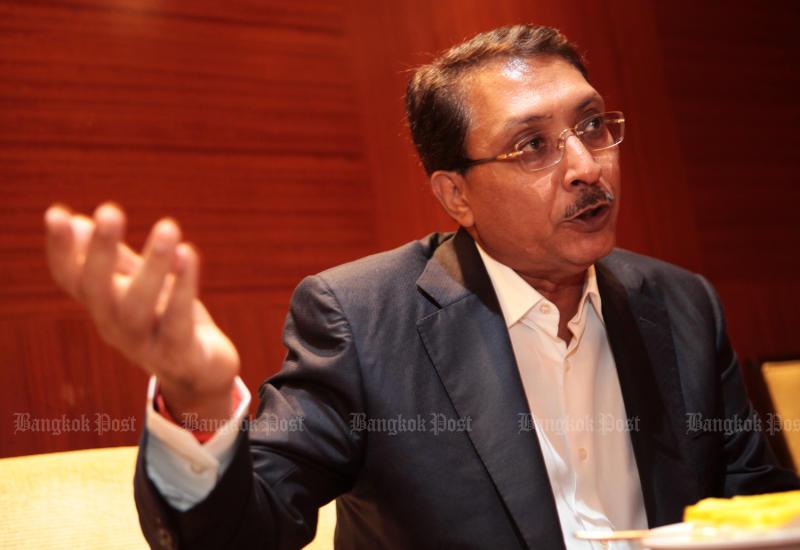 Aloke Lohia ,Founder and Group CEO of Indorama Ventures Plc. (Bangkok Post file photo)