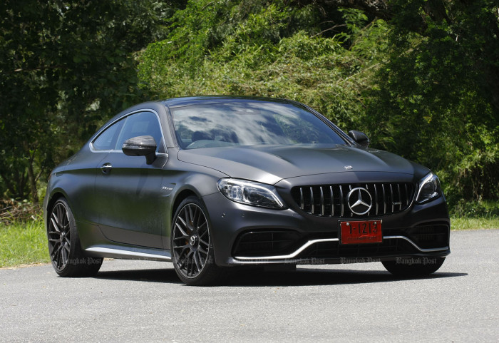 Mercedes-AMG C63 S Coupe Facelift (2019) Review